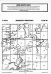 Map Image 040, Crow Wing County 1987 Published by Farm and Home Publishers, LTD